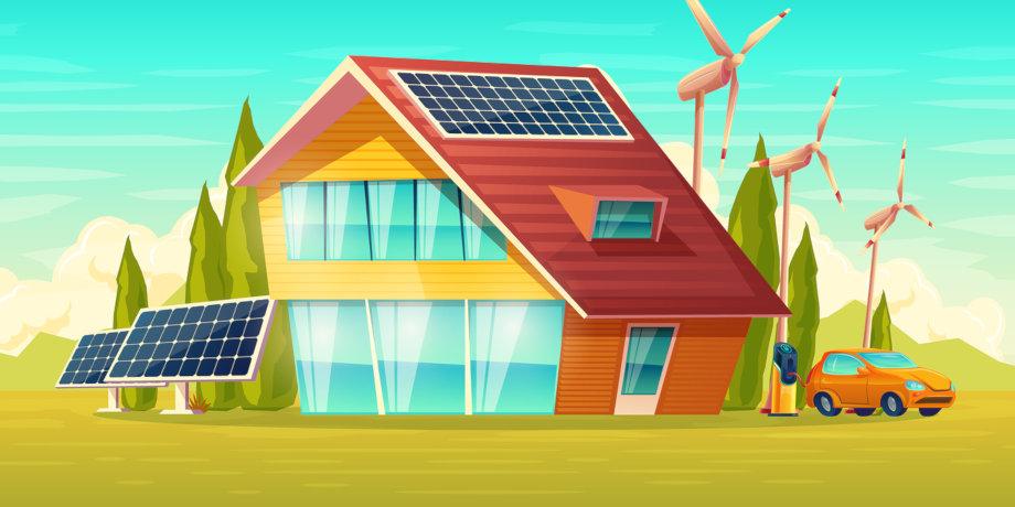 Le captage d 39 nergie renouvelable l 39 chelle de votre maison energ - Maison a energie renouvelable ...